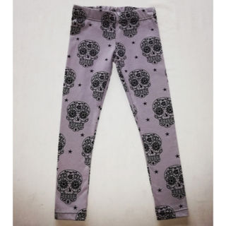 Skull Leggings - Size 4