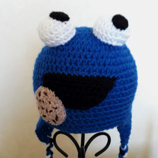 Cookie Monster Hat 1-2 years